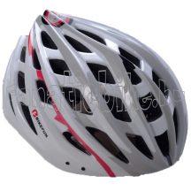Bikefun Skystream fejvédő fehér-szürke (55-58cm)
