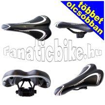 MHA-065 nyereg fekete-ezüst