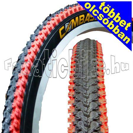 Színes MTB 26x2.125 (57-559) köpeny piros-fekete