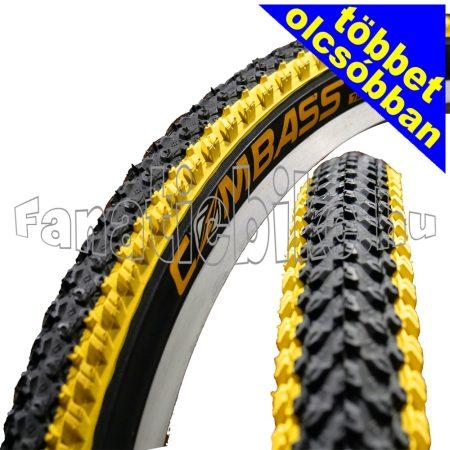 Színes MTB 26x2.125 (57-559) köpeny sárga-fekete