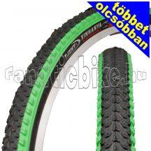Színes MTB 26x2.125 (57-559) köpeny zöld-fekete