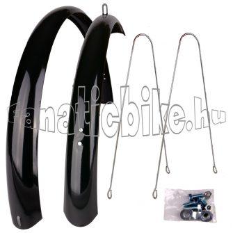 """28"""" 53mm CN fém sárvédő fekete"""